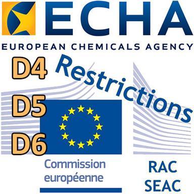 D4, D5, D6 : les Comités de l'ECHA soutiennent la proposition de restriction dans les produits sans rinçage