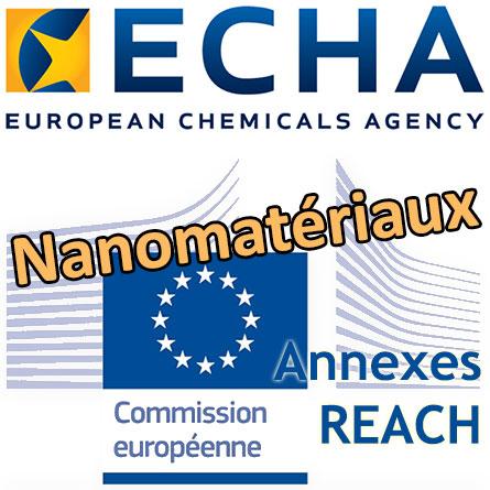 Drapeau Commission européenne et Logo ECHA
