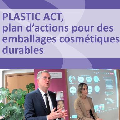 Le Plastic Act de la FEBEA : un plan d'actions pour des emballages cosmétiques durables