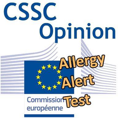 AAT (Test Alerte Allergie) : Opinion du CSSC