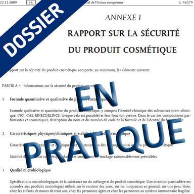 Dossier Annexe I du Règlement 1223/2009