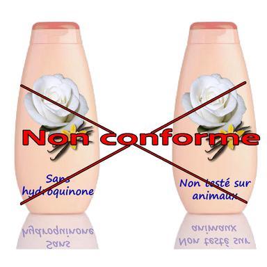 Allégations cosmétiques non-conformes
