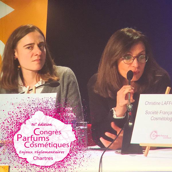 Julie Joseph, de l'ARPP et Raffaella Berioli, de la FEBEA