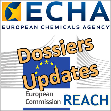 ECHA: Keep your REACH dossiers up to date… before it is too late!