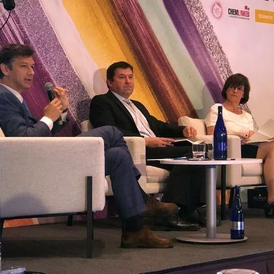 Salvatore D'Acunto, Gerald Renner et Monique Goyens à la CEAC 2019