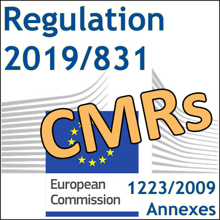 2019/831: the first CMR Regulation has been published