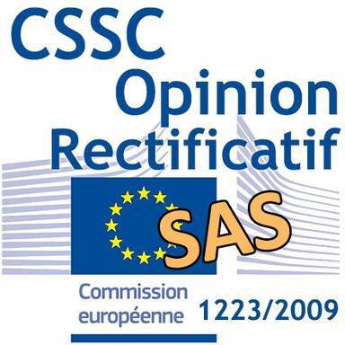Solubilité des SAS : le CSSC apporte un rectificatif à son Opinion
