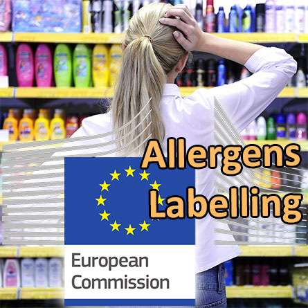 Assessment of the impact of extended allergen labelling on cosmetic products by the European Commission