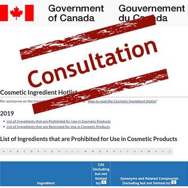 Canada : Consultation sur les modifications proposées à la Liste critique des ingrédients cosmétiques