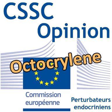 Octocrylene : Opinion préliminaire du CSSC