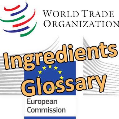 La Commission européenne notifie le glossaire des ingrédients cosmétiques à l'OMC