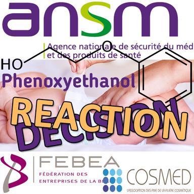 L'industrie cosmétique conteste la DPS Phenoxyethanol de l'ANSM