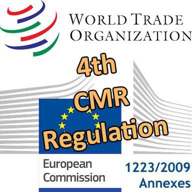 Le 4e Règlement CMR européen notifié à l'OMC