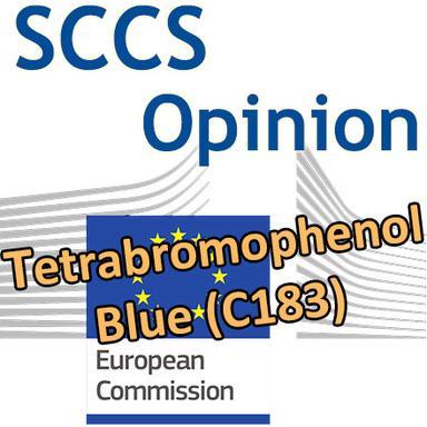 Tetrabromophenol Blue (C183) : nouvelle Opinion du CSSC