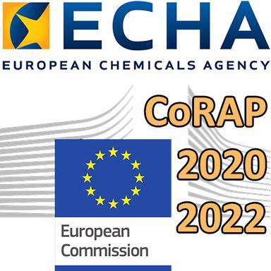 CoRAP : Proposition de l'ECHA pour 2020-2022