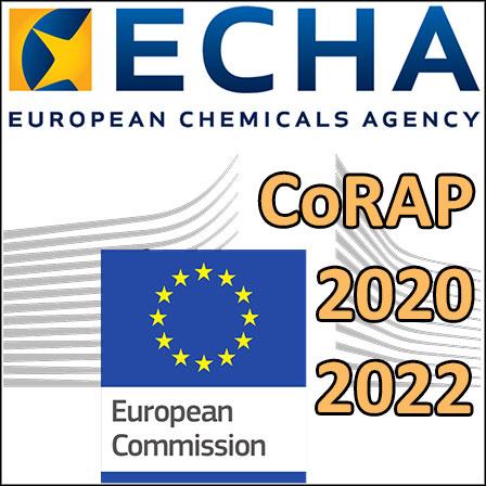 CoRAP: ECHA's proposal for2020-2022
