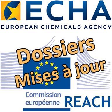 ECHA : Tenez vos dossiers REACH à jour... avant qu'il ne soit trop tard !