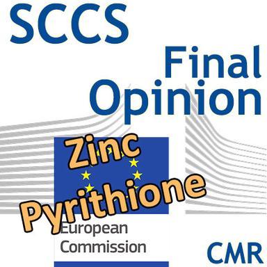 Zinc pyrithione : Opinion finale du CSSC