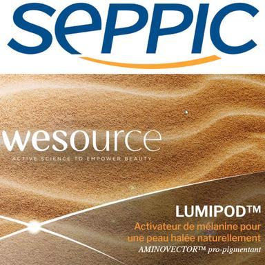 Lumipod de SEPPIC, l'activateur de mélanine pour une peau bronzée naturellement