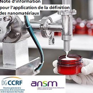 Définition des nanomatériaux en cosmétique : la DGCCRF et l'ANSM confirment leur interprétation