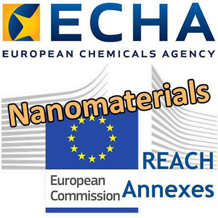 European Commission Flag and ECHA Logo