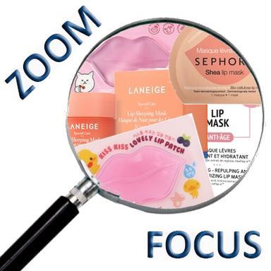 Les masques pour les lèvres, une tendance à la hausse