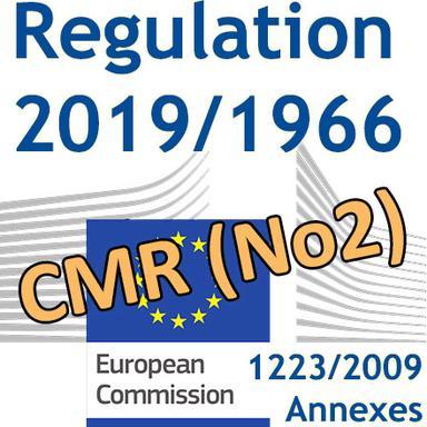 Publication du 2e Règlement CMR