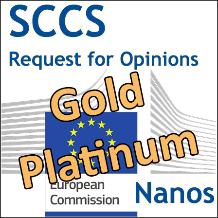 Nanos (Gold, Platinum): Requests for Opinions to SCCS