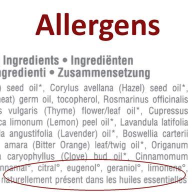 """Allergènes """"étiquetables"""""""