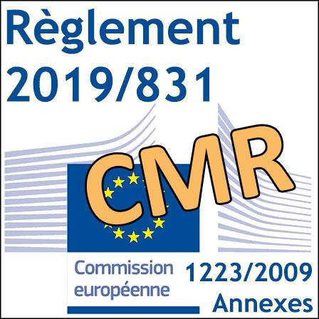 2019/831: le premier Règlement CMR a été publié