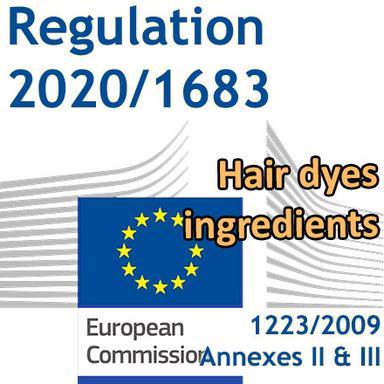 Règlement 2020/1683 : Nouvelles actualisations des Annexes II et III du Règlement Cosmétiques pour les teintures capillaires