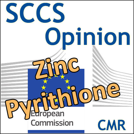 Zinc Pyrithione: Opinion of the SCCS