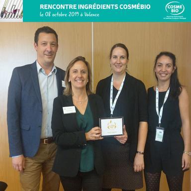 Ingrédients cosmétiques : les Trophées Cosmébio