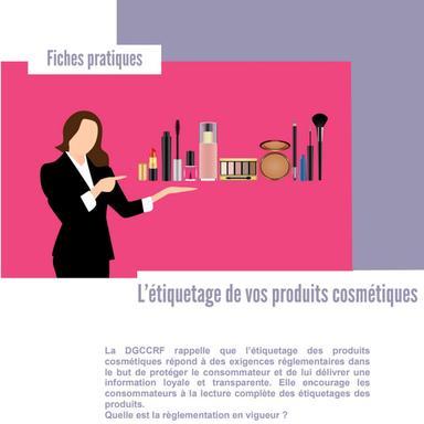 La DGCCRF rappelle les règles de l'étiquetage cosmétique