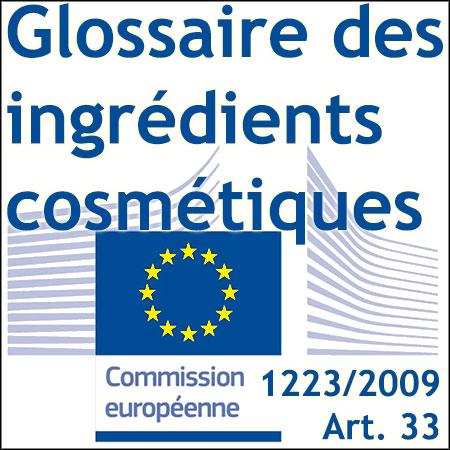 Glossaire européen des ingrédients cosmétiques