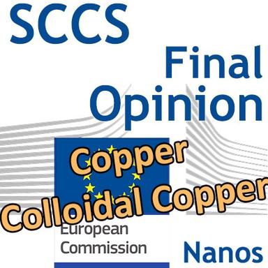 Copper (nano) et Colloidal Copper (nano) : Opinion finale du CSSC