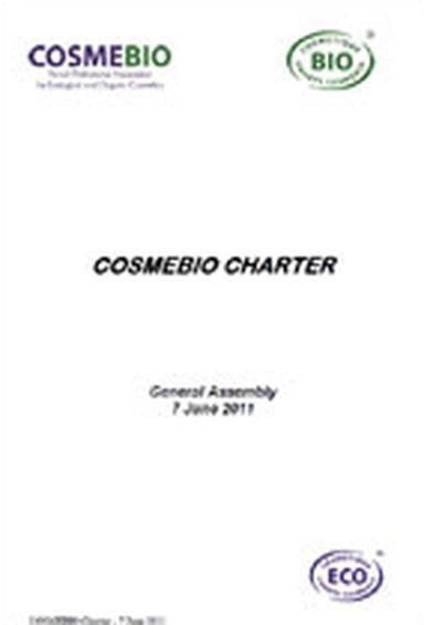 The new Cosmebio charter