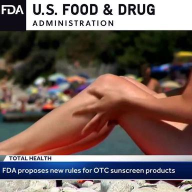 Monographie solaire : la proposition de la FDA