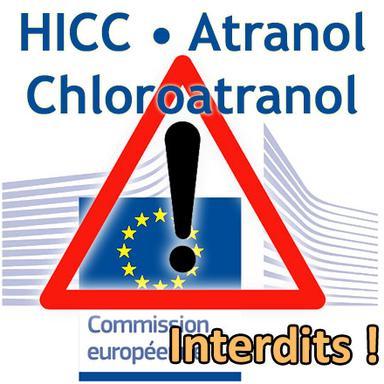 Rappel : les HICC, Atranol et Chloroatranol interdits depuis le 23 août 2019