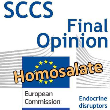 Homosalate : Opinion finale du CSSC