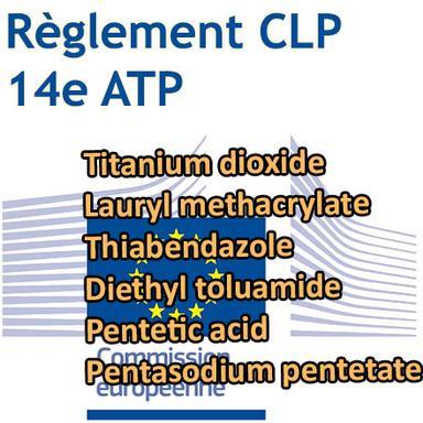 14e ATP du CLP : le TiO2 officiellement classifié Cancérogène 2