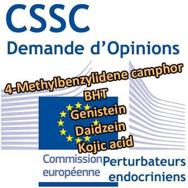 Perturbateurs endocriniens : 5 nouvelles demandes d'Opinion au CSSC