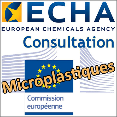 Restrictions des microplastiques: la consultation de l'ECHA