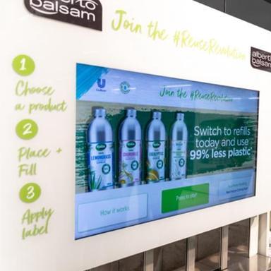 Unilever met un coup d'accélérateur sur le refill