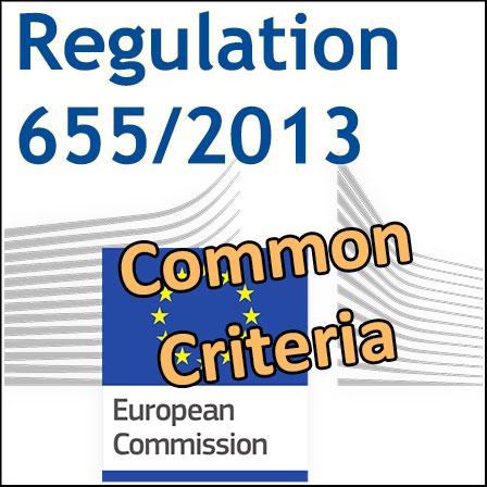 Regulation655/2013on Common Criteria