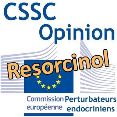 Resorcinol : Opinion préliminaire du CSSC