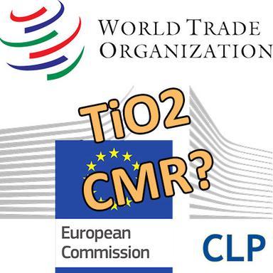 Dioxyde de titane : Fin de non-recevoir de l'Europe sur une révision de projet de classification