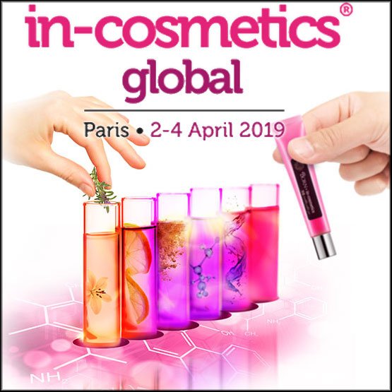 in-cosmetics Global à Paris