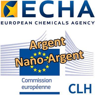 Argent : l'ECHA lance une consultation ciblée sur la classification et l'étiquetage harmonisés